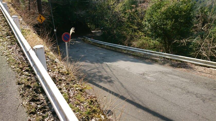 六丁峠の激坂