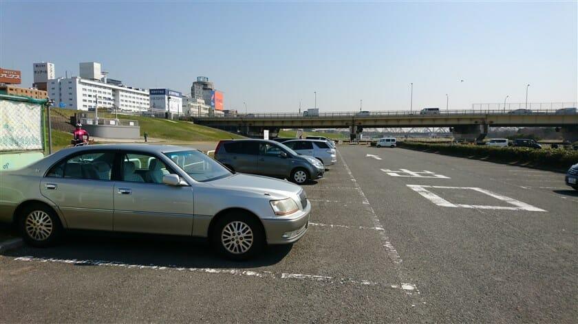 新淀川大橋 駐車場