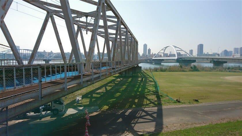 阪急千里線 淀川橋梁
