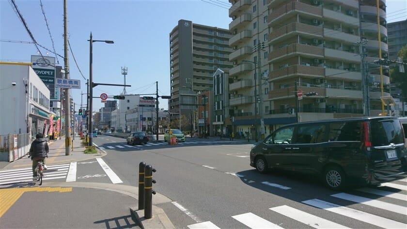 歌島橋南の標識