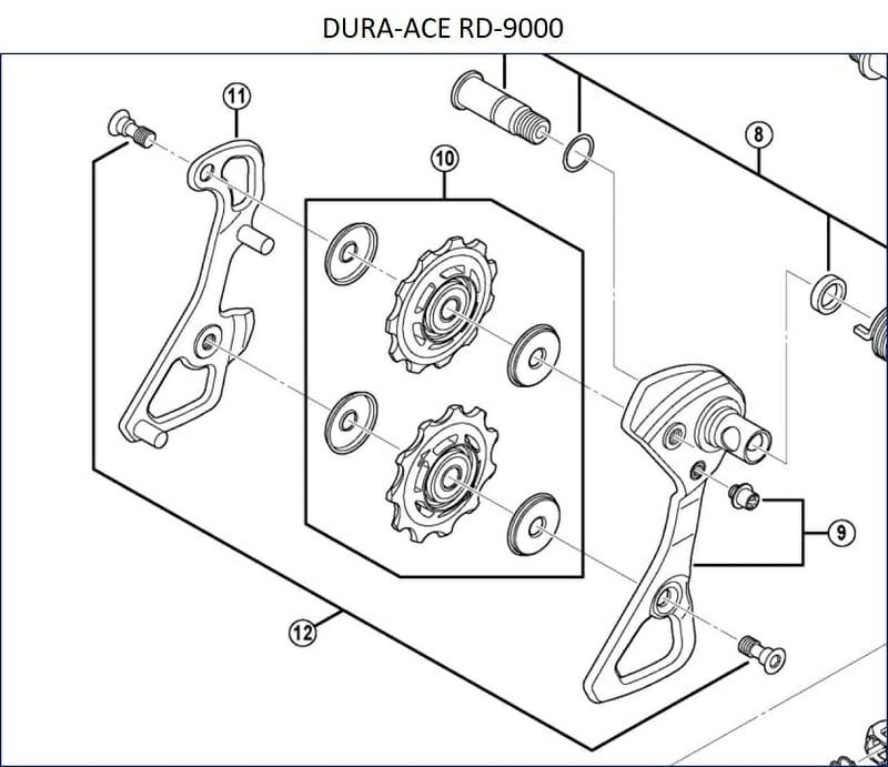 【 DURA-ACE RD-9000 】の仕様