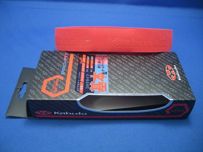 OGK KABUTO プロフィットバーテープ [コルクタイプ] BT-01 レッド