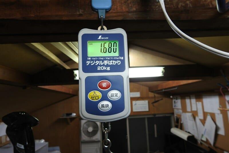 ガラスコーティングを施したフレーム全体の重量