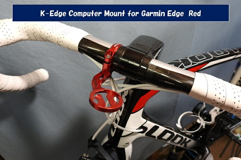 K-Edge Computer Mount for Garmin Edge Red
