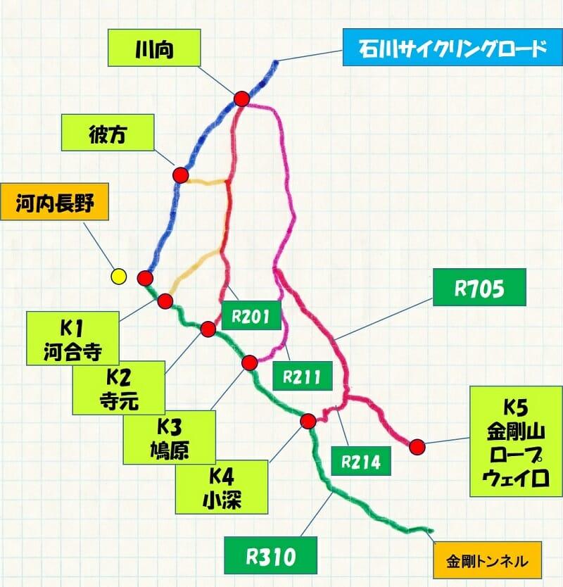 【 R310を登坂 】する際の「5つの左折パターン」