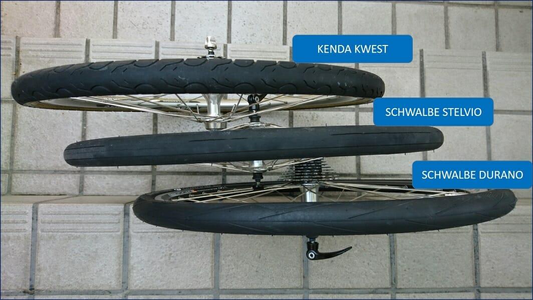 28mm幅 タイヤ比較