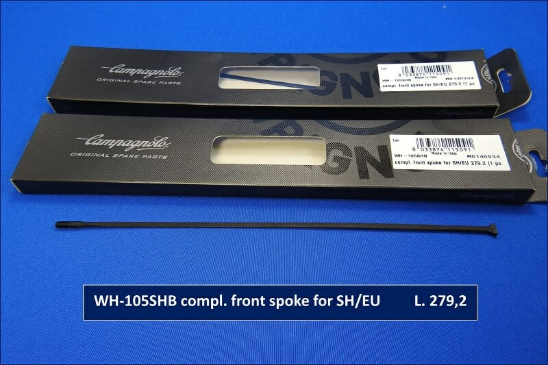 WH-105SHB compl. front spoke for SH/EU L. 279,2