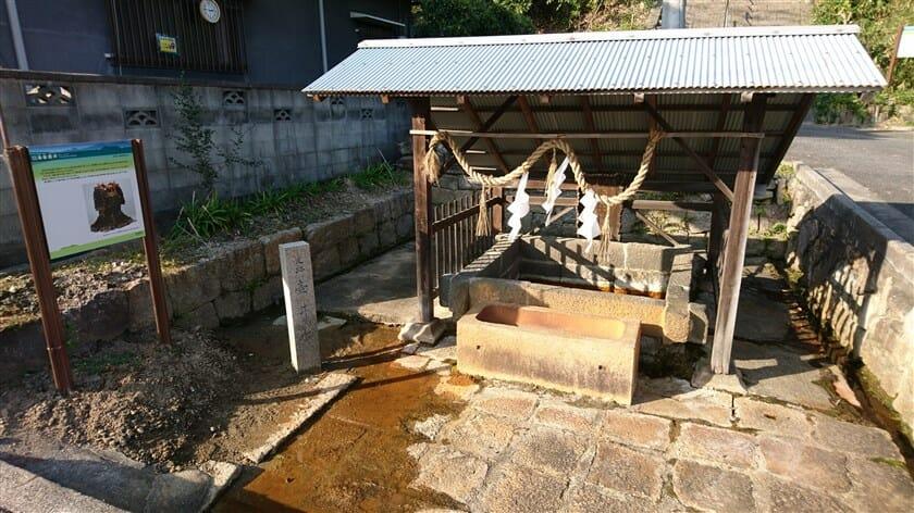「壺井の井戸」