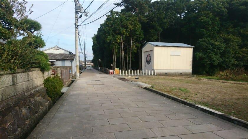長尾神社に到着
