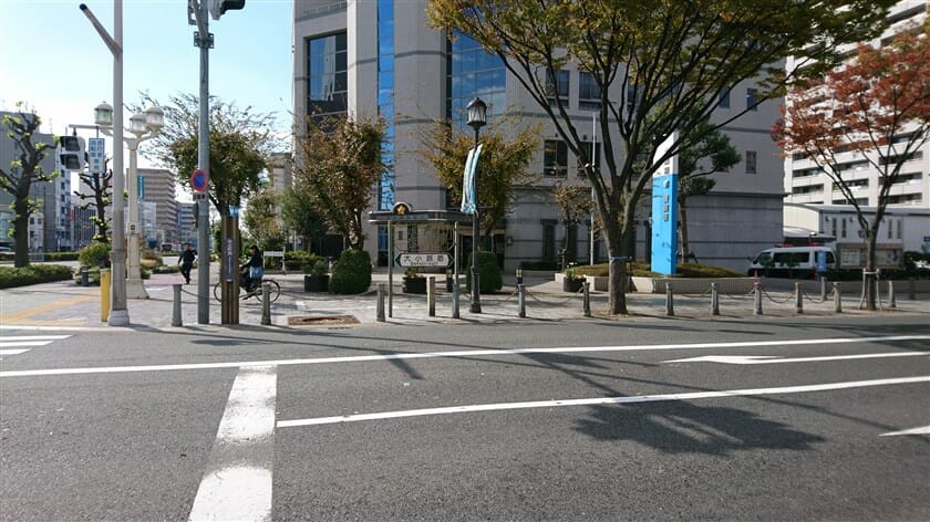 大小路通りとの交差点