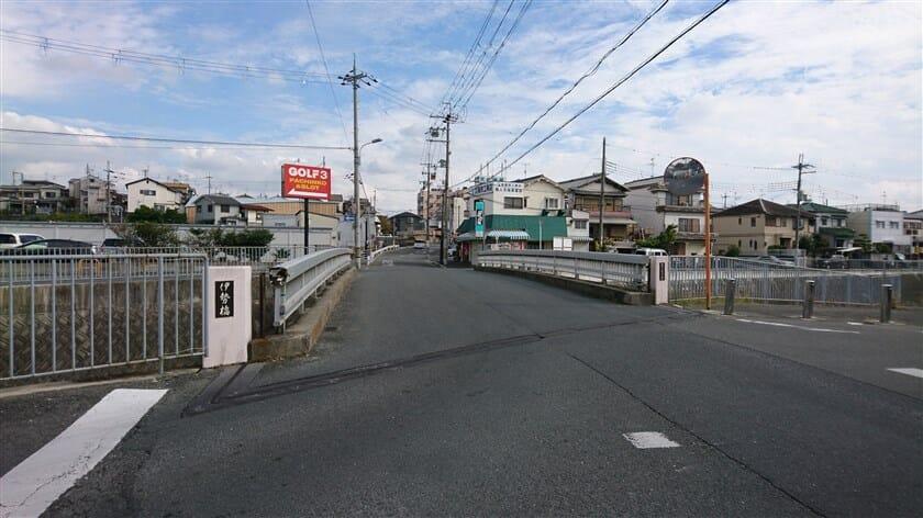 伊勢橋(東除川)