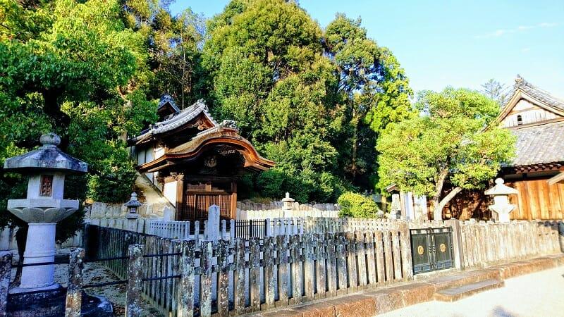 叡福寺にある聖徳太子の墓