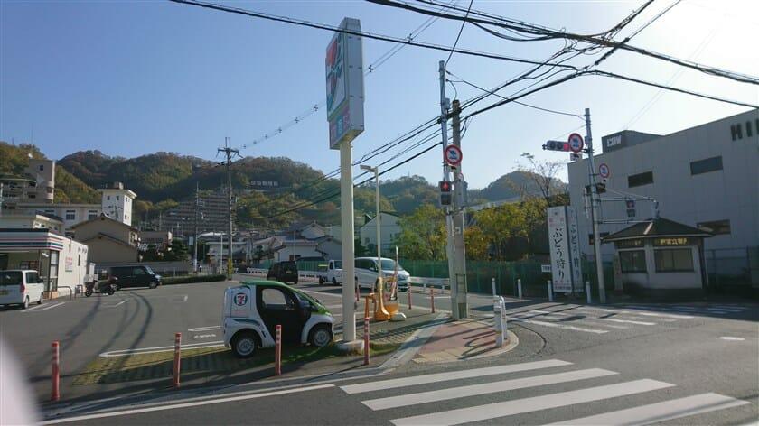 大県南の交差点