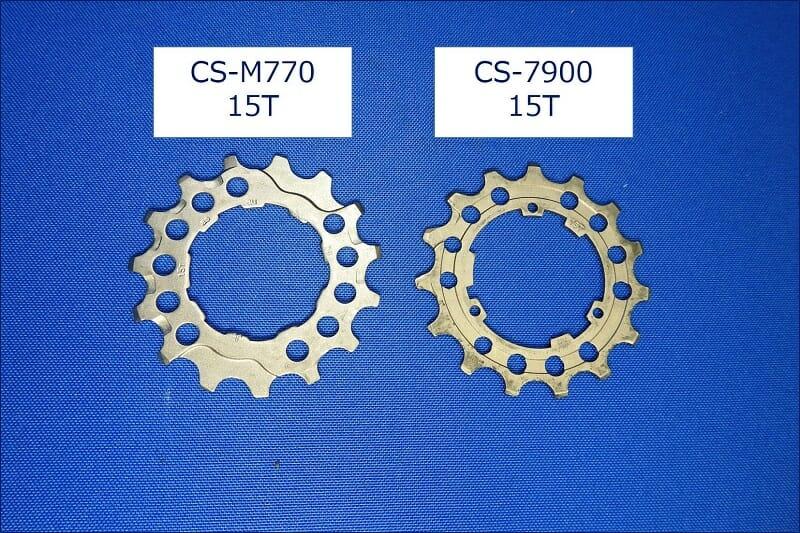 「CS-M770」の15Tと、「CS-7900」の15Tとの比較