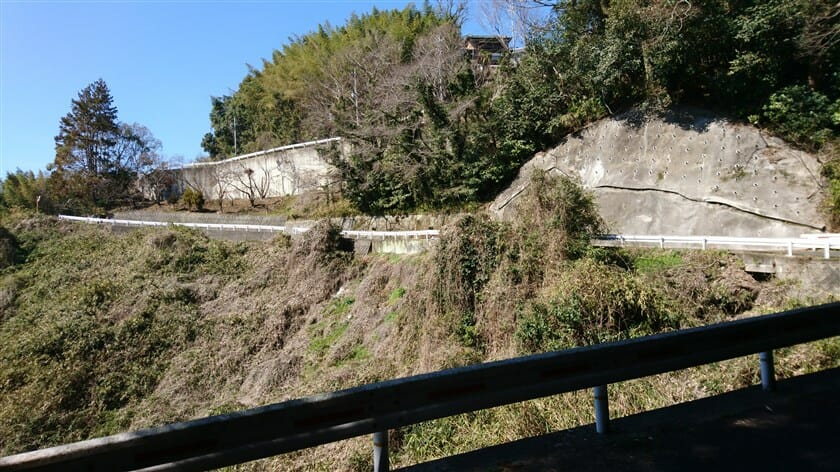 R163:本堂高井田線への、合流地点が見えてきた