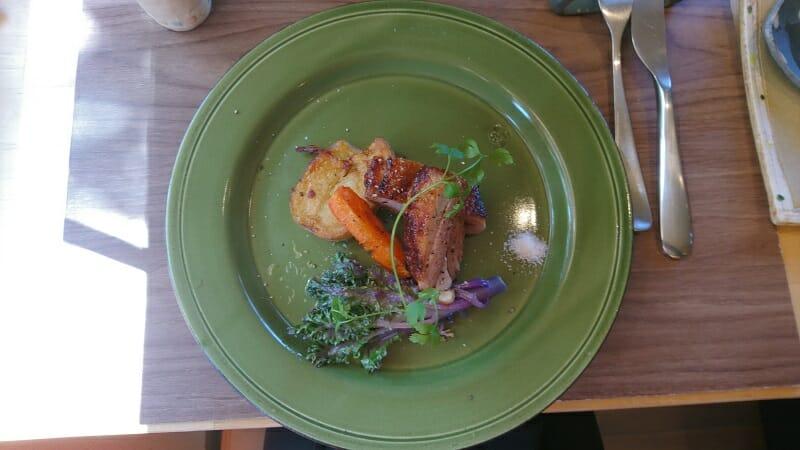 コモレビガーデン 「Main Lunch」のメイン料理