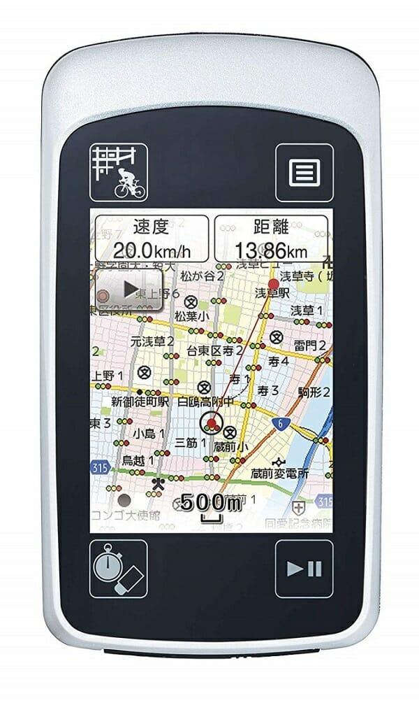 ユピテル ATLASハンディGPSマップ ASG-CM14