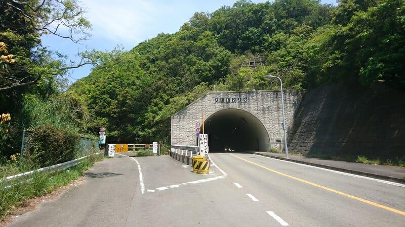 大川峠、和歌山県側入り口