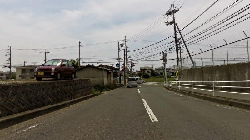 終点の、146号(西脇梅原線)の信号