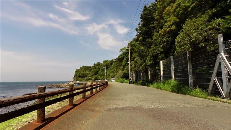 大阪ゴルフクラブの北側海岸