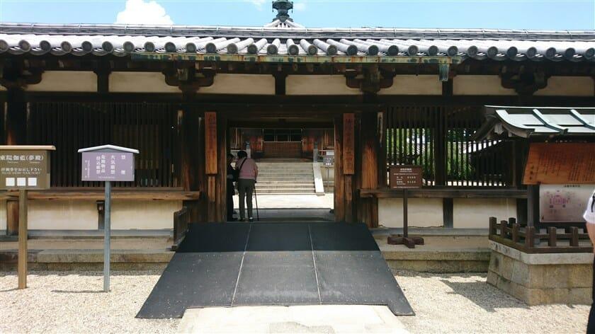 法隆寺 東院伽藍