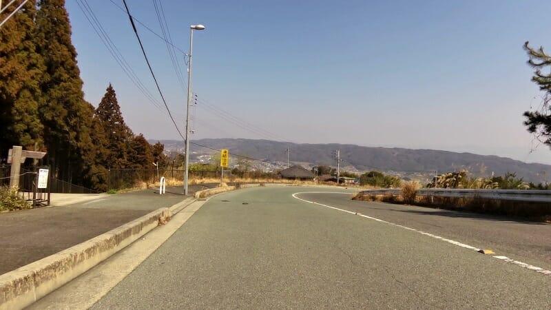 ここからは、竜田川まで下り