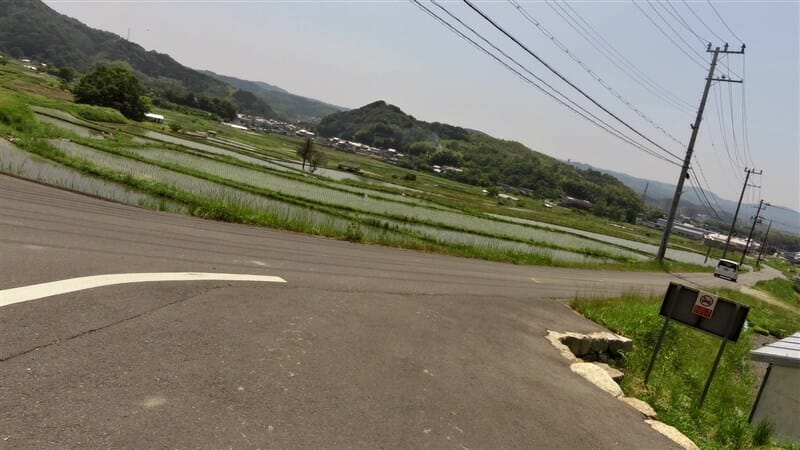 土地も平坦で、水田が広がる