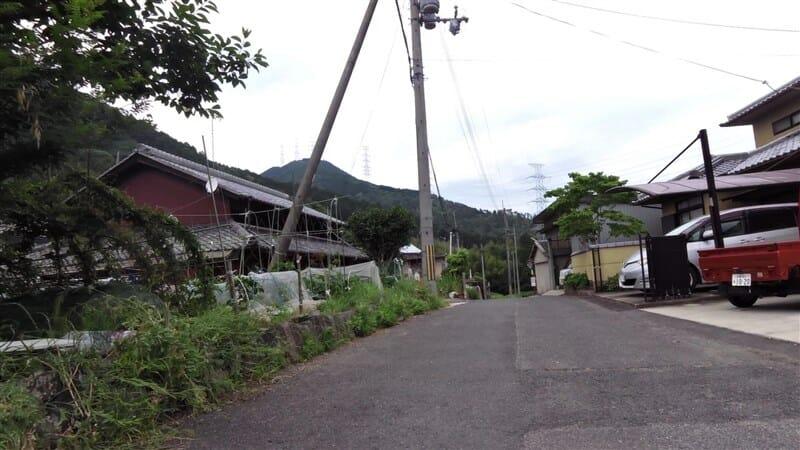 原山地区の集落