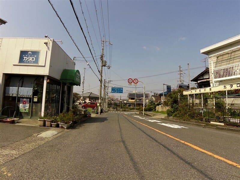 大阪側終点 R705からの森屋