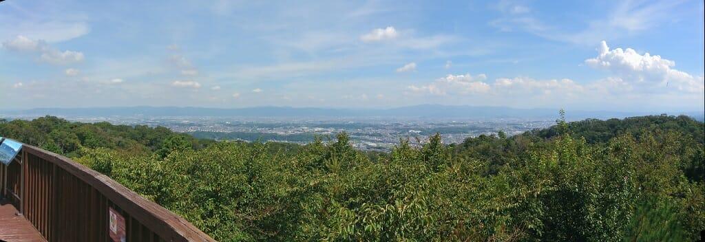 南方向:和歌山側の眺望