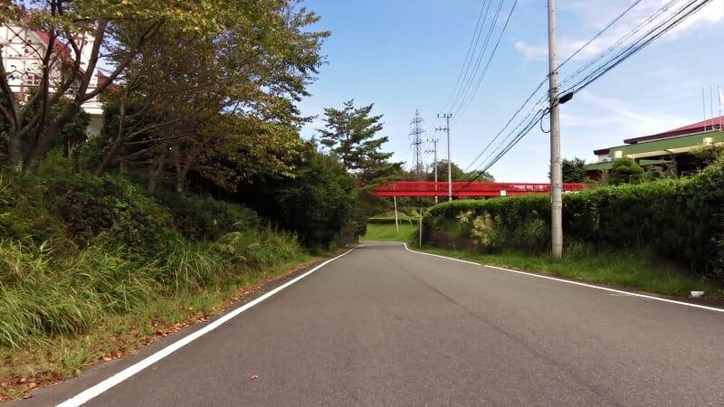 奈良県道・京都府道753号:月ヶ瀬今山線。月ヶ瀬カントリー前