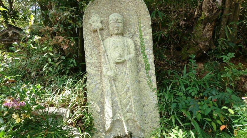 榁ノ木峠 地蔵菩薩立像