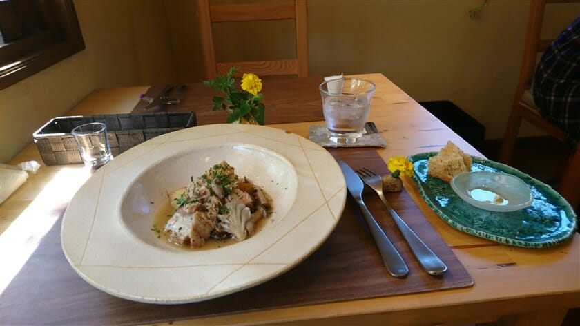 メインランチ:豚肉の柔らか煮