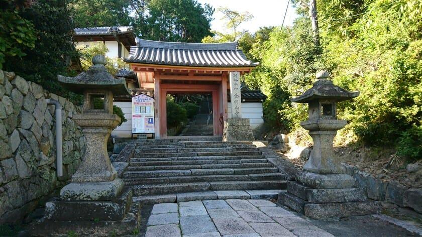 矢田寺(金剛山寺)の山門