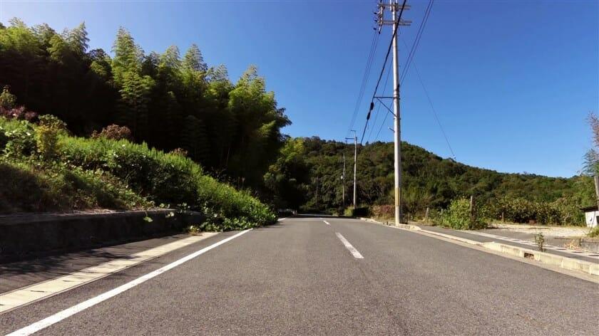 松尾寺への登り