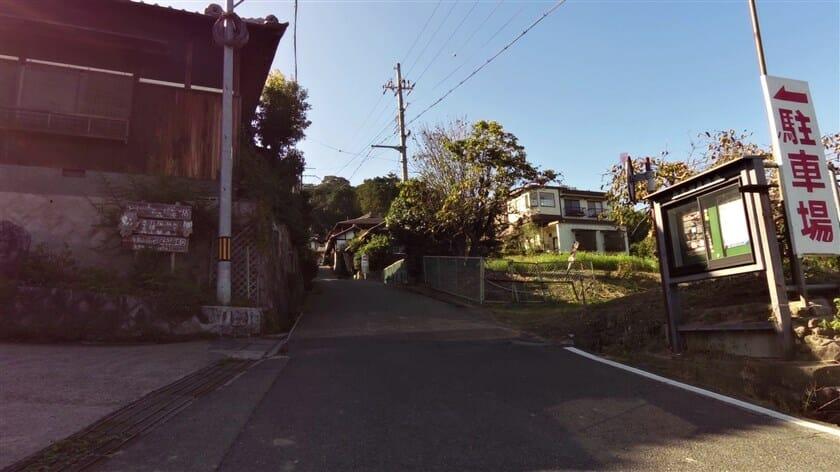 矢田寺への登り