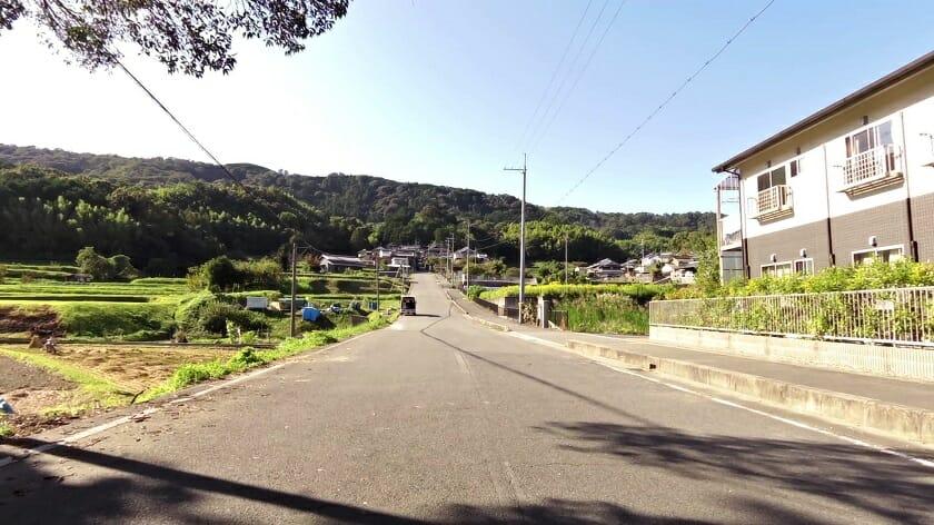 R189矢田寺線を登る