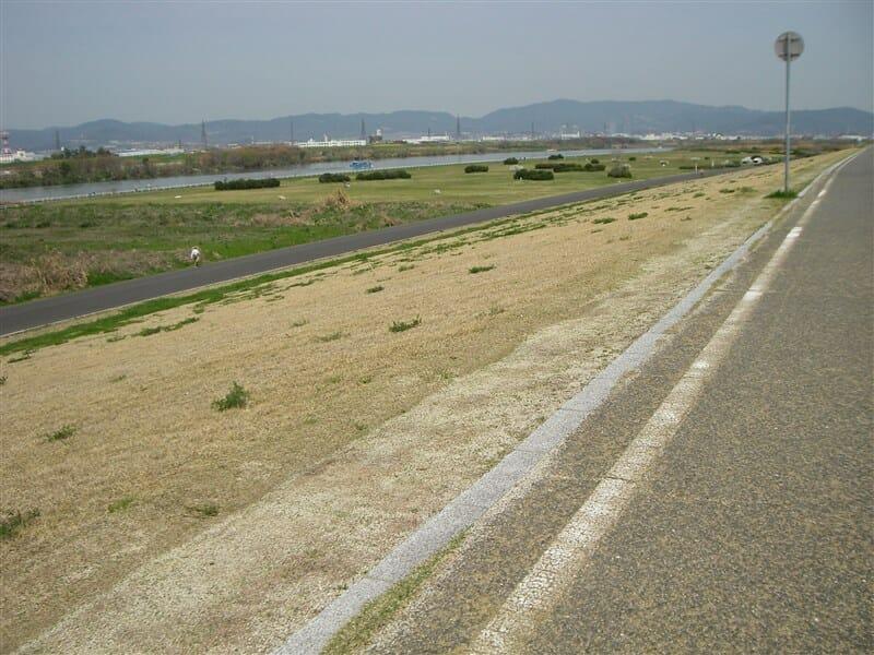 淀川の左岸