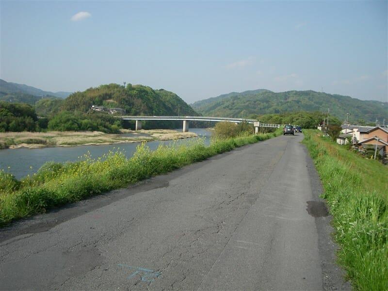 木津川の上流方面