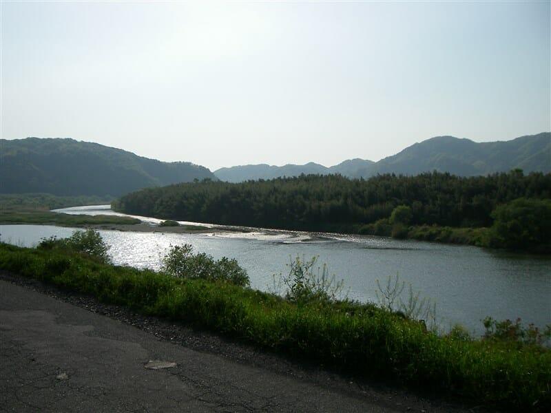 木津川の下流方面