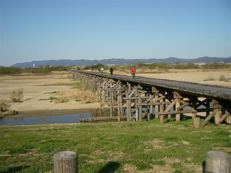 流れ橋(ながればし)