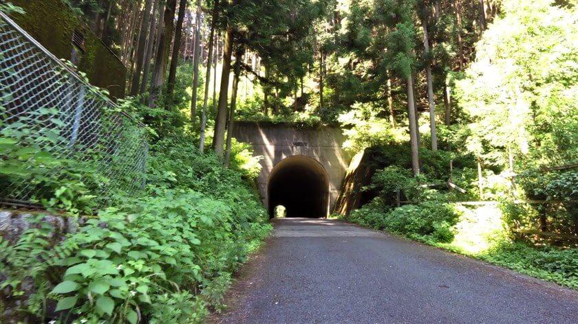 このトンネルが、ピーク地点のようだ
