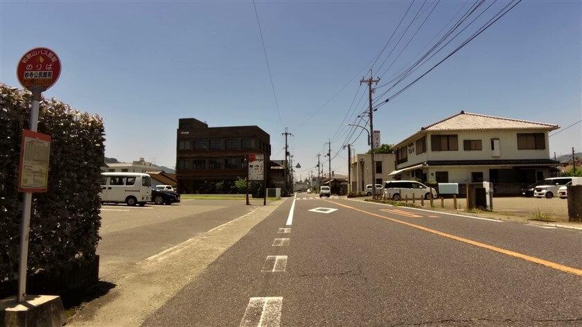 国道24号線に出て、笠田方面に向かう