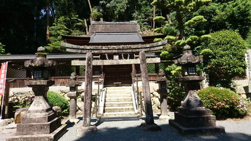 「烏帽子形八幡神社」本殿