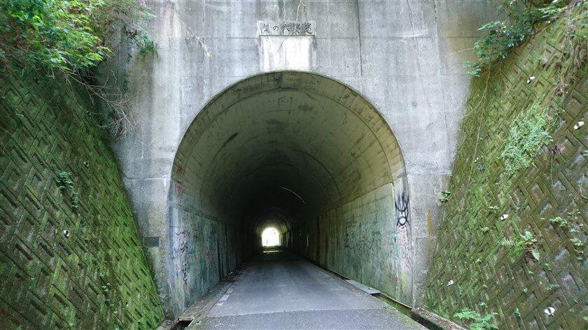 トンネルの名前は、「梨の木遂道」