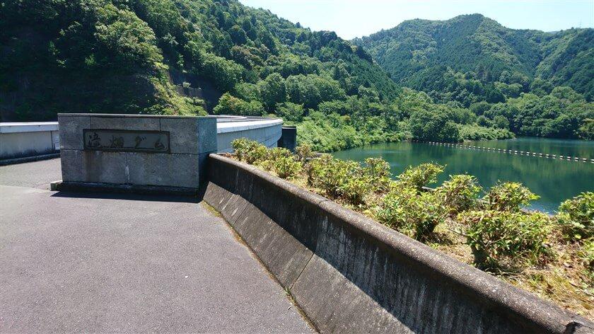 滝畑ダムの堰堤