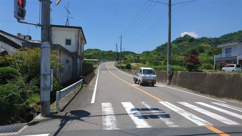 広域農道:笠田方面(右・西)