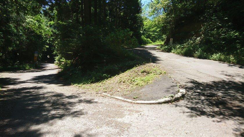 右:堀越観音方面、左:R61号堺かつらぎ線