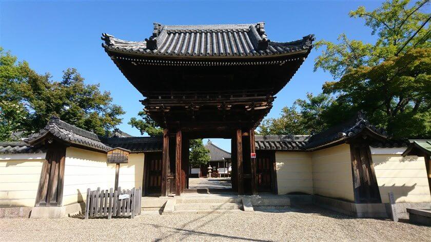 「道明寺」楼門