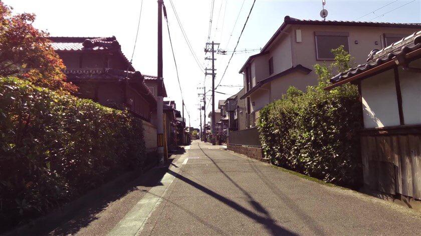 中野町の東高野街道